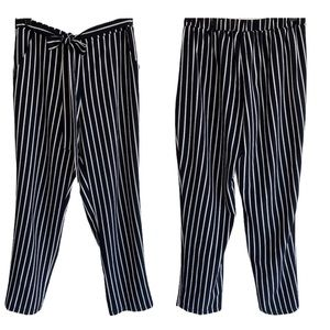 Mosaic & Co. Stripe Pants Sz L EUC